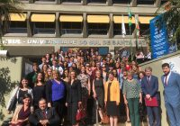 Estudantes norte-americanos se encantam por Florianópolis