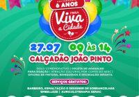 Feira Viva a Cidade comemora 6 anos com atividades gratuitas