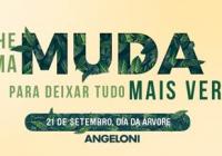 Dia da Árvore: mudas nativas serão distribuídas sábado nas lojas do Angeloni