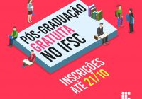 IFSC abre vagas em 12 cursos de especialização e mestrado