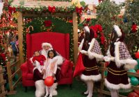 Papai Noel no Floripa Shopping.