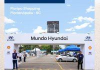 "Floripa Shopping recebe ""Mundo Hyundai"""