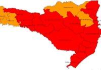 Número de regiões em risco gravíssimo sobe para 12 em SC