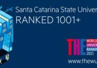 Udesc segue entre melhores universidades no ranking global da Times Higher Education