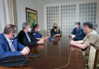 Daniela Reinehr se reúne com a cúpula da Segurança Pública e reforça continuidade dos trabalhos