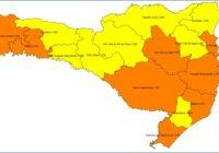 Matriz de risco atualizada mostra oito regiões em nível alto e oito, em grave