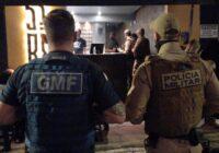 Primeira noite da força-tarefa integrada de fiscalização após decreto do Governo Estadual